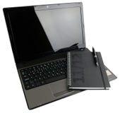 Abra el cuaderno con el organizador Imagenes de archivo