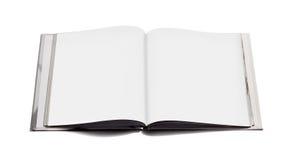 Abra el cuaderno con las paginaciones en blanco fotos de archivo libres de regalías