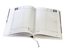 Abra el diario imágenes de archivo libres de regalías