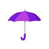 Abra el ejemplo del vector del paraguas Imagen de archivo libre de regalías