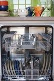 Abra el lavaplatos Fotos de archivo