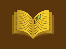 Abra el librete ilustración del vector