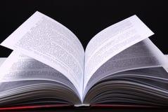 Abra el libro Foto de archivo