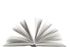 Abra el libro con aislado Imágenes de archivo libres de regalías