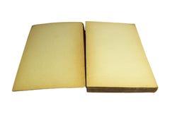 Abra el libro de la vendimia Fotografía de archivo