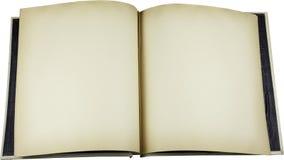 Abra el libro de recuerdos Fotografía de archivo libre de regalías