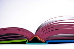Abra el libro del diseño Foto de archivo libre de regalías