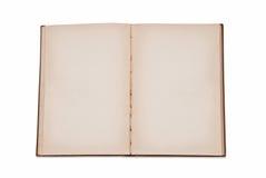 Abra el libro en blanco Fotos de archivo libres de regalías