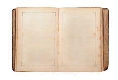 Abra el libro viejo Imagen de archivo libre de regalías