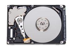 Abra el mecanismo impulsor de disco duro fotos de archivo libres de regalías