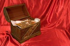 Abra el pecho de tesoro Imagen de archivo