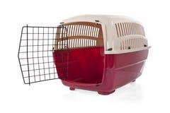 Abra el portador del animal doméstico Imagen de archivo libre de regalías
