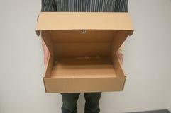 Abra el rectángulo de papel Fotografía de archivo libre de regalías