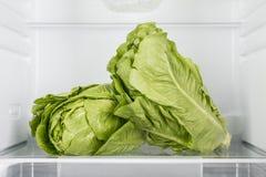 Abra el refrigerador por completo de frutas y verduras frescas Fotos de archivo