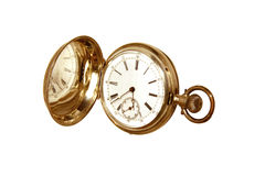 Abra el reloj Fotografía de archivo libre de regalías