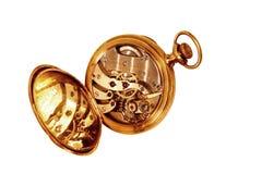 Abra el reloj Imágenes de archivo libres de regalías