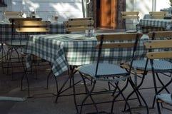 Abra el restaurante Fotografía de archivo