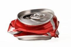 Abra el rojo puede Fotos de archivo libres de regalías