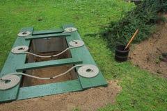 Abra el sepulcro Foto de archivo libre de regalías