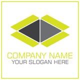 Abra el vector Logo For Moving de la caja/la compañía de transporte libre illustration
