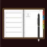 Abra el vector personal del organizador libre illustration