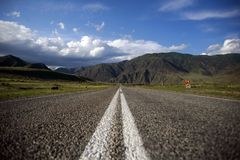 Abra a estrada Fotos de Stock Royalty Free