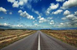 Abra a estrada Foto de Stock