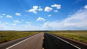 Abra a estrada Fotos de Stock