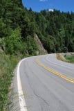 Abra a estrada adiante Imagens de Stock