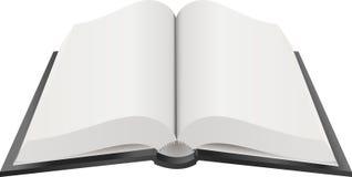 Abra a ilustração de livro Fotografia de Stock