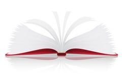 Abra a ilustração do vetor do livro ilustração do vetor