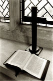 Abra la biblia Foto de archivo libre de regalías