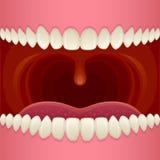Abra la boca Imágenes de archivo libres de regalías