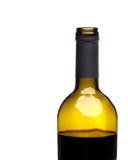 Abra la botella de vino rojo fotografía de archivo libre de regalías
