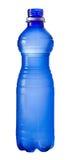 Abra la botella plástica de agua Imagenes de archivo