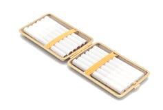 Abra la caja de cigarrillo. imágenes de archivo libres de regalías