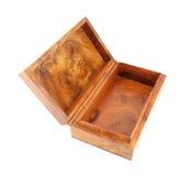 Abra la caja de madera (el estilo de Myanmar) Fotos de archivo libres de regalías