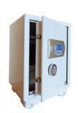 Abra la caja fuerte electrónica Imagenes de archivo