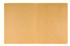 abra la carpeta del cartón Fotografía de archivo libre de regalías