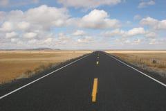 Abra la carretera Fotografía de archivo libre de regalías