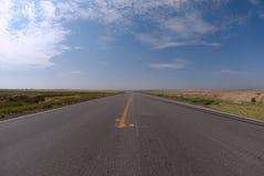 Abra la carretera nacional fotografía de archivo