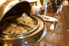 Abra la comida fría Fotografía de archivo libre de regalías