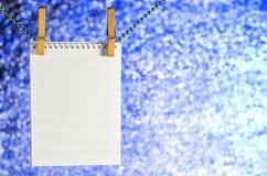 Abra la ejecución del cuaderno en una secuencia Fotografía de archivo