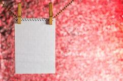 Abra la ejecución del cuaderno en una secuencia Imágenes de archivo libres de regalías