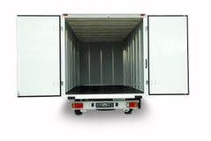 Abra la furgoneta de entrega Foto de archivo