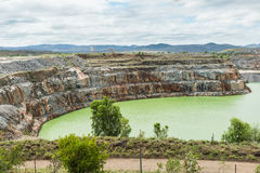 Abra la mina de oro del corte, Ravenswood, Queensland foto de archivo libre de regalías