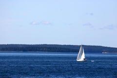 Abra la navegación de la bahía Foto de archivo