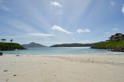 Abra la playa Fotografía de archivo