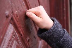 Abra la puerta Imagen de archivo libre de regalías