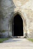 Abra la puerta de la iglesia Imágenes de archivo libres de regalías